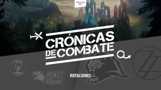 Crónicas de Combate: Rotaciones | Análisis | League of Legends