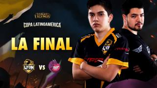 Lyon Gaming vs Gaming Gaming - La Final - LAN - Copa Clausura